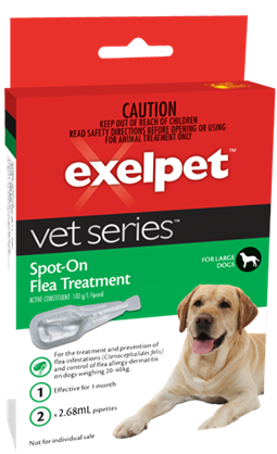 VET Series Flea Treatment for Large Dogs